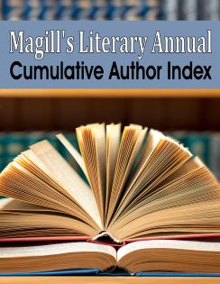 Magill's Literary Annual Cumulative Author Index