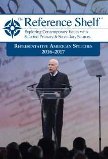 The Reference Shelf: Rep American Speeches 2016-20
